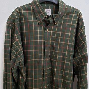 Brooks Brothers Original Polo Shirt Long Sleeve Lg